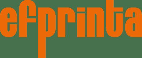 Logo Efprinta - drukarnia i producent etykiet